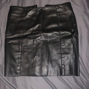 Leather Skirt Worn Once